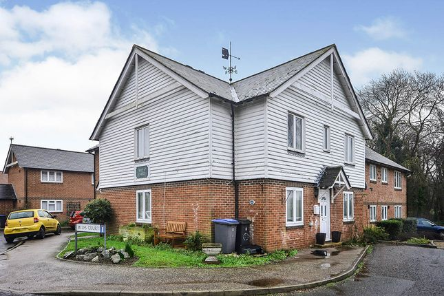 Thumbnail Flat for sale in Miles Court, Wingham, Canterbury, Kent