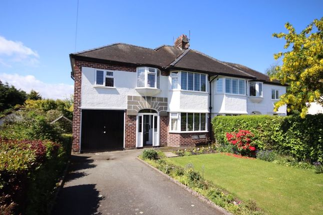 Thumbnail Semi-detached house for sale in St. Hilarys Drive, Deganwy, Conwy