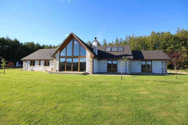 Thumbnail Detached bungalow for sale in Reduit House, Culloden Moor, Inverness.