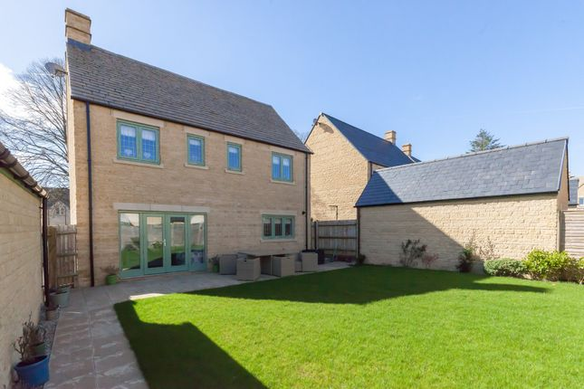 Thumbnail Detached house to rent in Red Arrows Close, Upper Rissington, Gloucestershire