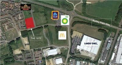 Thumbnail Land for sale in Panniers Way, Barleythorpe, Oakham