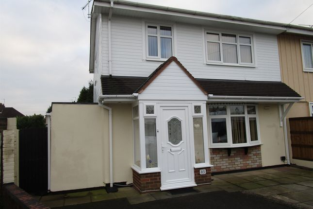 Thumbnail Semi-detached house for sale in Eastcroft Road, Warstones, Wolverhampton