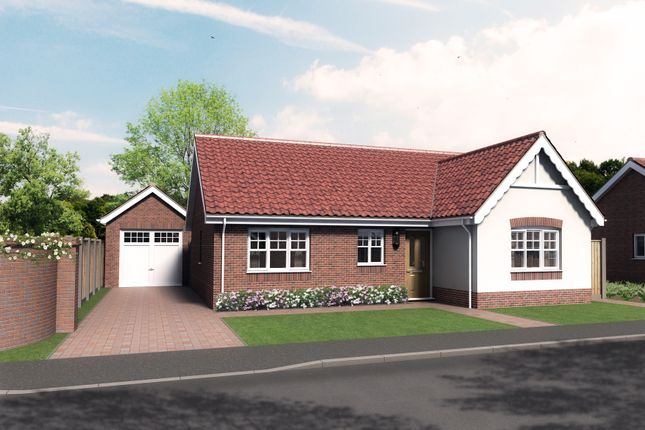 Thumbnail Detached bungalow for sale in Plot 3, Barn Owl Close, Reedham