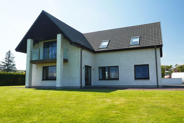 Thumbnail Detached house for sale in Coast, Inverasdale, Ross-Shire