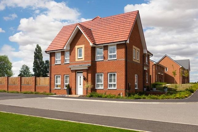 "Thumbnail Detached house for sale in ""Morpeth"" at Market Road, Thrapston, Kettering"
