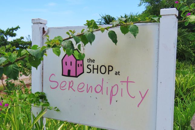 Shop Sign of Serendipity, Foster Hall Plantation, Barbados
