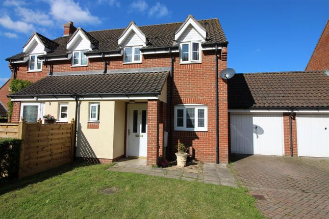 3 bed semi-detached house for sale in Station Drive, Reedham, Norwich