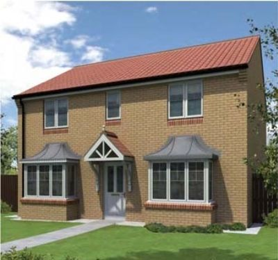 "Thumbnail Detached house for sale in ""The Westoe"" at St. Aloysius View, Hebburn"