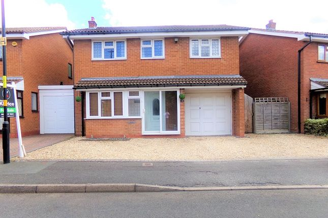 Thumbnail Detached house for sale in St. Peters Close, Hall Green, Birmingham