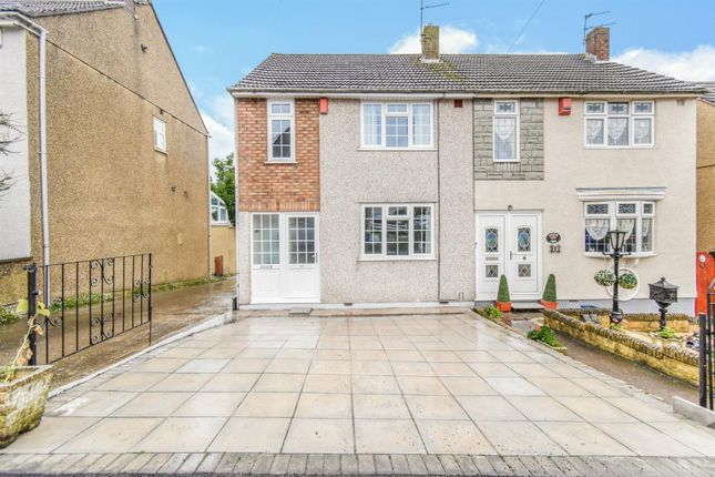 Thumbnail Semi-detached house to rent in Blackthorn Walk, Kingswood, Bristol