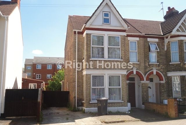 Thumbnail Semi-detached house to rent in Hurst Grove, Bedford
