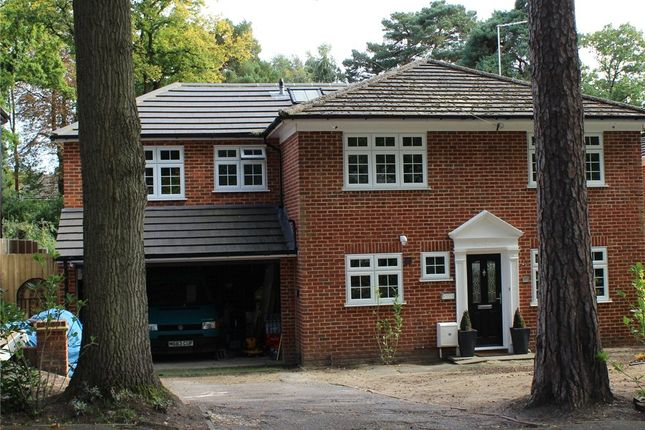 Thumbnail Detached house for sale in Firwood Drive, Camberley, Surrey