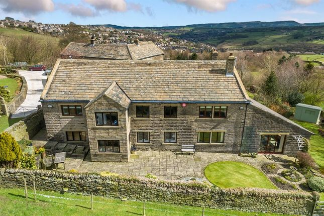 Thumbnail Barn conversion for sale in Hogley Lane, Holmfirth