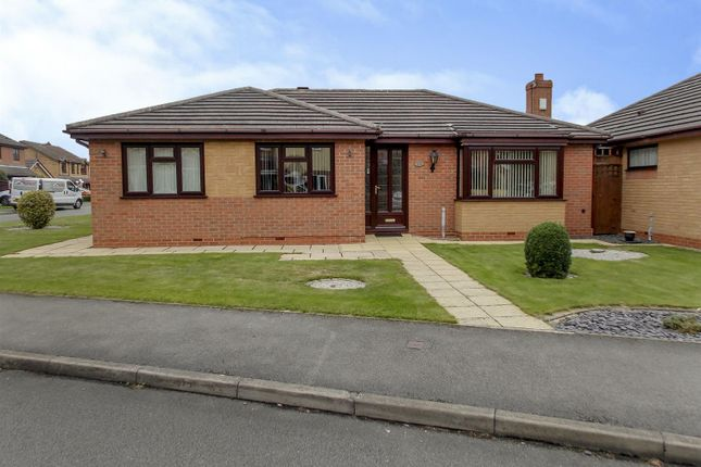 Thumbnail Detached bungalow for sale in Sandwell Close, Long Eaton, Nottingham
