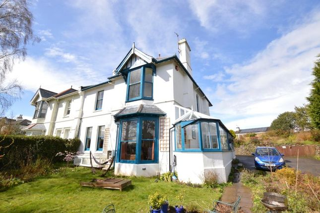 Thumbnail Flat for sale in South Road, Newton Abbot, Devon
