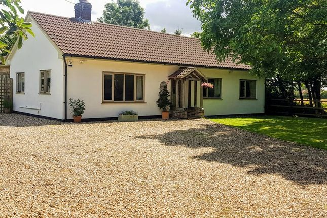 Thumbnail Detached bungalow for sale in Bury Road, Hitcham, Ipswich, Suffolk