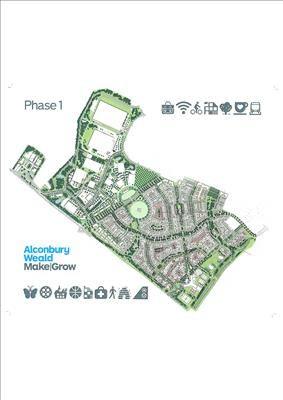 Thumbnail Land to let in Alconbury Enterprise Campus, Alconbury Weald, Huntingdon, Cambs