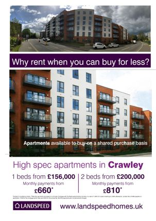 1 bedroom flat for sale in West Green Drive, Crawley