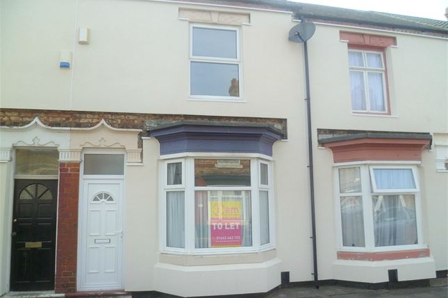 Thumbnail Terraced house to rent in Marlborough Road, Stockton-On-Tees