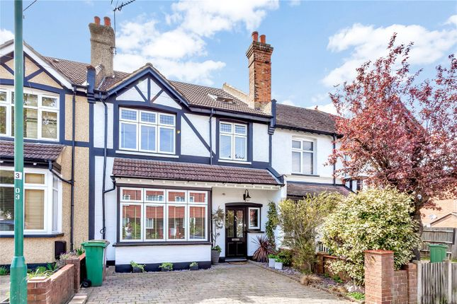 Thumbnail Terraced house for sale in Clarendon Road, Wallington