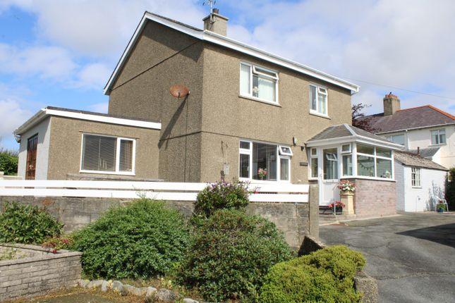 Thumbnail Detached house for sale in Cae Capel Estate, Chwilog, Pwllheli, Gwynedd