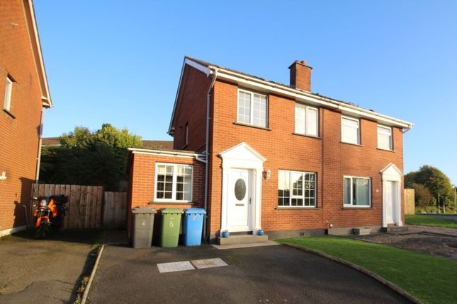 Thumbnail Semi-detached house for sale in Manor Park, Bangor