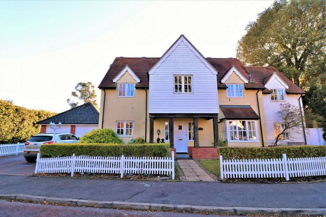 Thumbnail Detached house for sale in Croquet Gardens, Wivenhoe, Essex