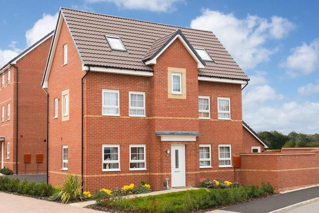 "Thumbnail Detached house for sale in ""Hesketh"" at Newton Abbot Way, Bourne"