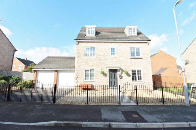 Thumbnail Detached house for sale in Grosmont Way, Newport