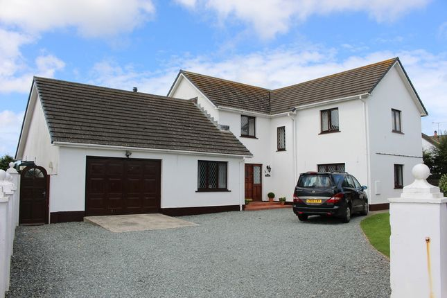 Thumbnail Detached house for sale in Sandyhaven Drive, Herbrandston, Milford Haven