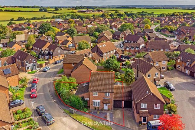 Thumbnail Detached house for sale in Highview Gardens, St. Albans, Hertfordshire