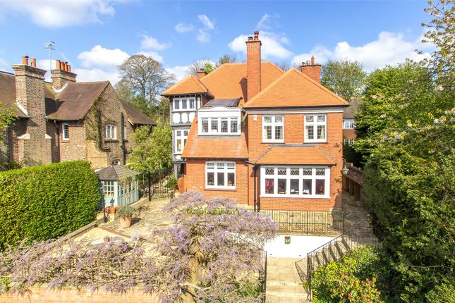 Thumbnail Detached house for sale in Wilderness Road, Oxted, Surrey