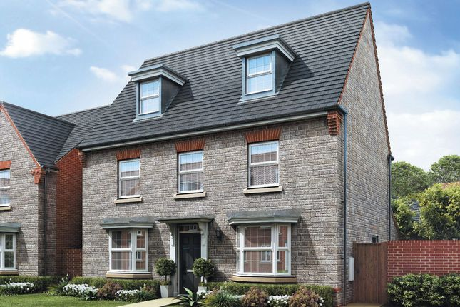 "Thumbnail Detached house for sale in ""Emerson"" at Bath Road, Kings Stanley, Stonehouse"