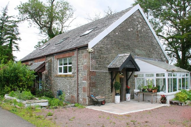 Thumbnail End terrace house for sale in Borgue, Kirkcudbright
