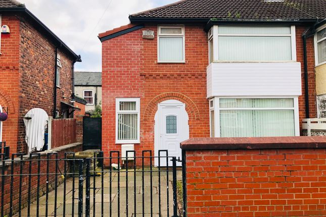 Thumbnail Semi-detached house for sale in Farrant Road, Longsight, Manchester