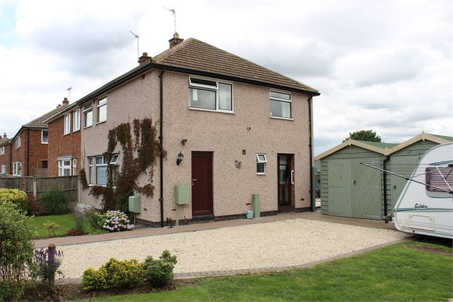 Thumbnail Semi-detached house for sale in Goodacre Road, Ullesthorpe, Lutterworth