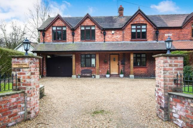 Front of Somerford View, Somerford, Congleton, Cheshire CW12