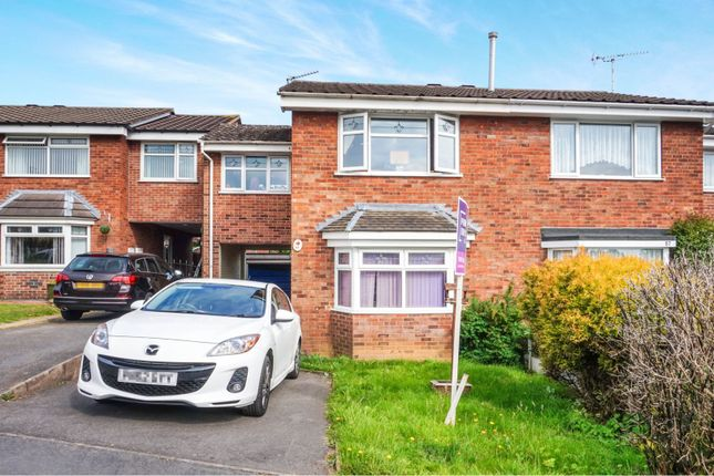 Thumbnail Semi-detached house for sale in Audens Way, Midway, Swadlincote