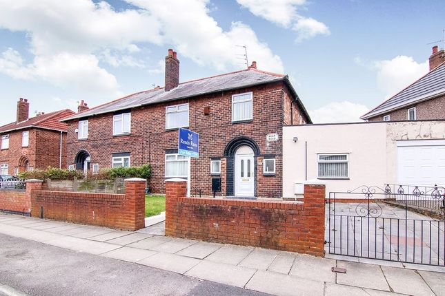 Thumbnail Semi-detached house for sale in Agar Road, Liverpool