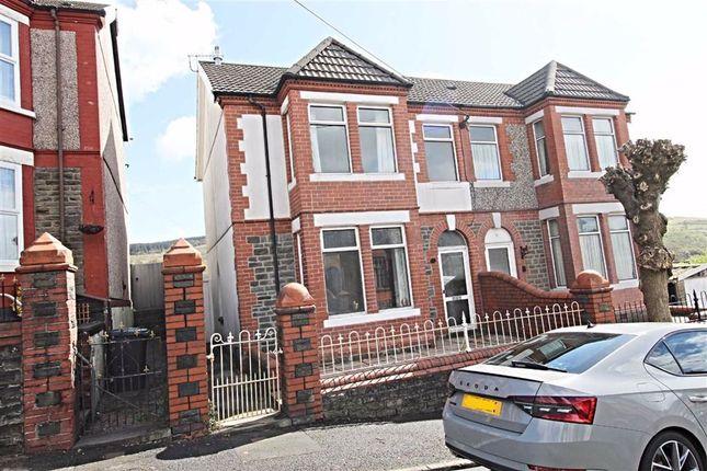 4 bed semi-detached house for sale in Heol-Y-Plwyf, Ynysybwl, Pontypridd CF37