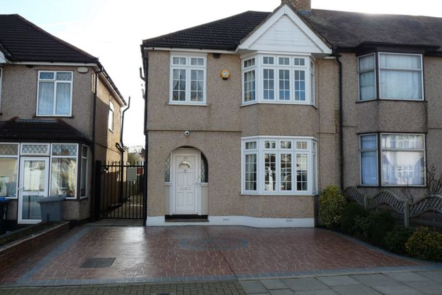 End terrace house for sale in Princes Avenue, Kingsbury