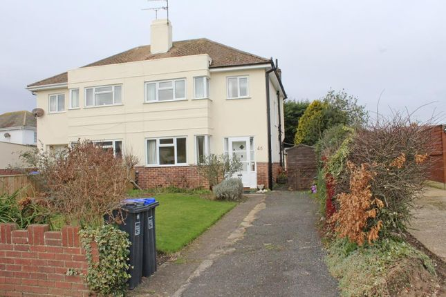 Thumbnail Semi-detached house for sale in 46 Mersham Gardens, Goring-By-Sea, Worthing, West Sussex