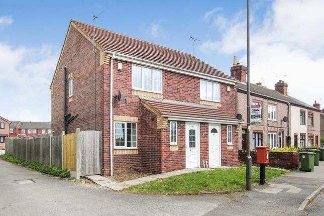 Thumbnail Semi-detached house to rent in Sleetmoor Lane, Somercotes, Alfreton