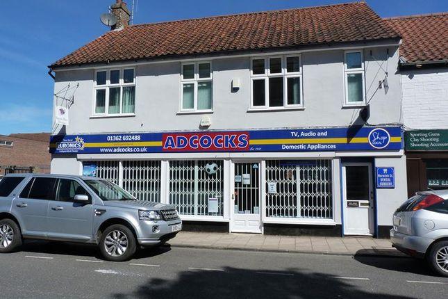 Thumbnail Retail premises to let in 20 Norwich Street, Dereham, Norfolk