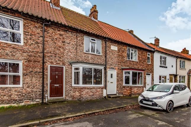 Thumbnail Terraced house for sale in South Side, Hutton Rudby, Yarm, North Yorkshire