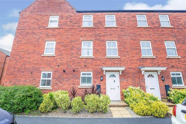Thumbnail Town house to rent in Arnhem Way, Saighton, Chester