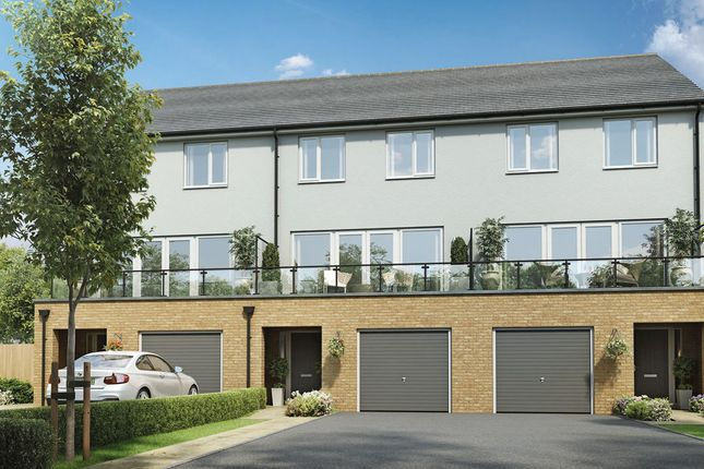 Thumbnail Town house for sale in Handley Place, Locking Parklands, Weston-Super-Mare