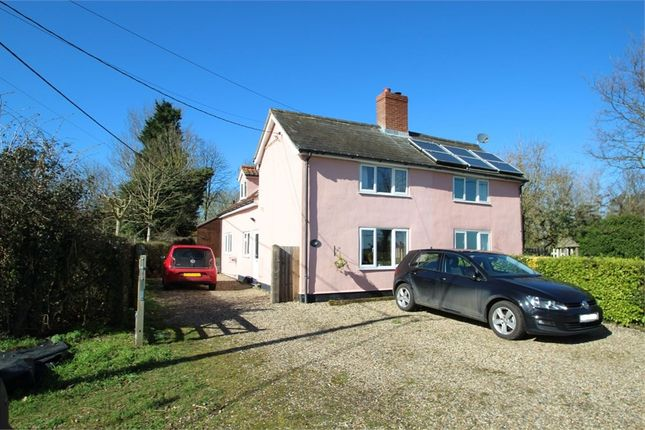 Thumbnail Cottage for sale in Mill Lane, Combs, Stowmarket