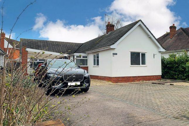 Thumbnail Detached bungalow for sale in Parkfield Drive, Taunton