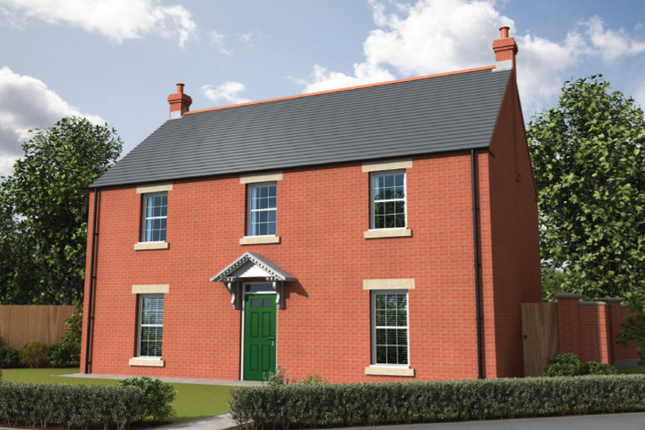 Thumbnail Detached house for sale in The Almondbank, Curtis Drive, Coningsby, Lincolnshire